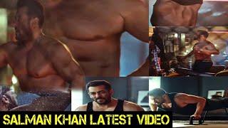 Salman Khan Shares Latest Video On Social Media Promoting Frsh Deodorant Salman Khan's Physique 🔥