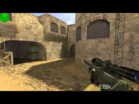 CS 1.6 #13 - 2vs2 - Dust2 - dvT- & siera - Tek Parca [HD] Türkce! 1080p