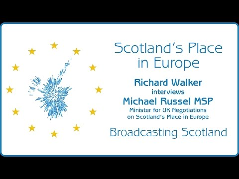 Mike Russell on Scotland's Place in Europe
