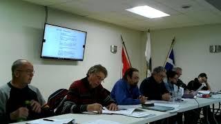 Séance ordinaire du conseil municipal le 4 décembre 2017