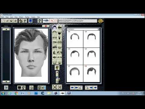 Программа для создания фоторобота человека на PC компьютере Windows 7