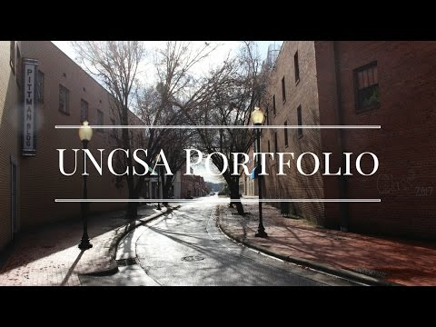 UNCSA Film Portfolio (Accepted) | 2017