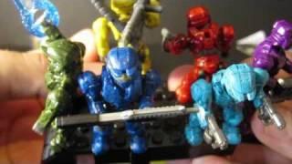 Baixar Halo Mega Bloks - Spartan Colors Overview