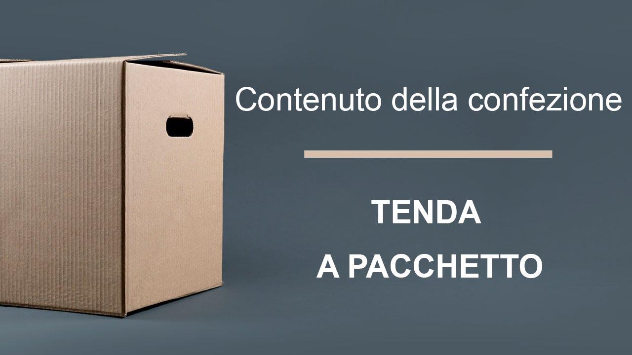 Youtube Tende A Pacchetto.Contenuto Della Confezione Tenda A Pacchetto Youtube