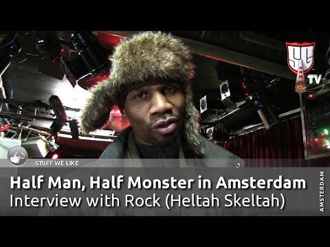 Half Man, Half Monster in Amsterdam - Interview with Rock (Heltah Skeltah) - Smokers Guide TV