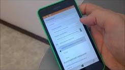 Windows 10 Mobile preview Outlook-sähköposti