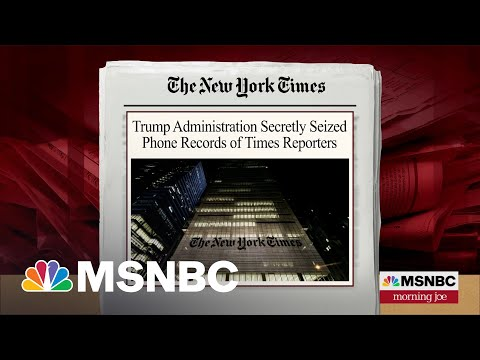 Trump Administration Seized Phone Records Of Journalists