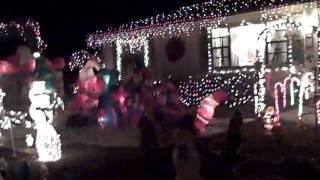 My Christmas lights 2009 ocoee fl.