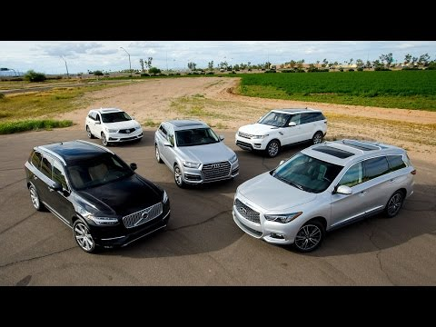 2017 Midsize Luxury SUV Comparison - Kelley Blue Book