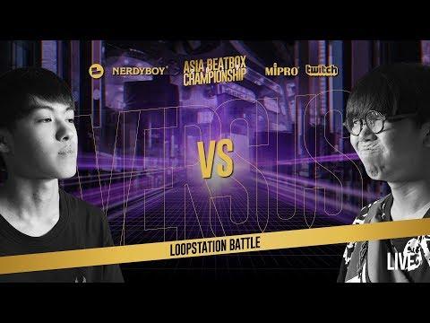 RUSY (JP) Vs SOSO (JP)|Asia Beatbox Championship 2019 SEMI FINAL LOOPSTATION BATTLE
