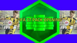 OMG FIFA 17 | FIRST PACK OPENING | 9000 FIFA POINTS!!