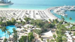Burj Al Arab Helicopter Landing Jumeirah Beach Hotel Dubai 4k FZ1000