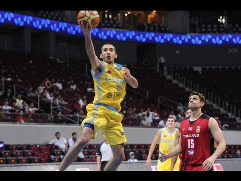 #FIBAAsia - Day1: Kazakhstan v Thailand (highlights)