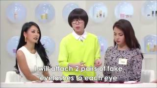 [Eng Sub]Get It Beauty-Hyori Hyorish BAD GIRLS makeup tutorial (2/2)