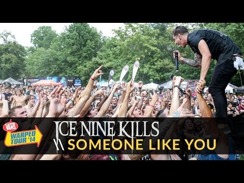 Ice Nine Kills - Someone Like You (Adele Cover) (Live 2014 Vans Warped Tour)