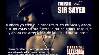 SIR SAYER - me acuerdo(sample) (LETRA+LINK DE DESCARGA)