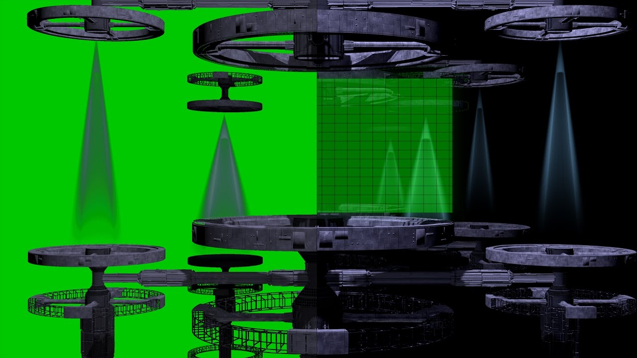 green screen backgrounds free templates - 4k sci fi free intro template free green screen source