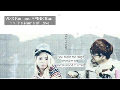 VIXX Ken and APINK Bomi - In The Name of Love Collab (PLEASE USE EARPHONE)