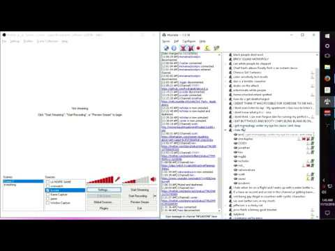 How to Separate VOIP from Twitch Streaming (Mumble/Open Broadcaster Software)