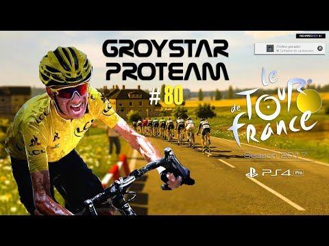 🔴 Legendarios vs Groystar Team ✅  TDF 2017 PS4 PRO ET 16/17 TOUR DE FRANCIA