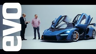 McLaren Senna preview - under the skin of the 789bhp track car | evo UNWRAPPED