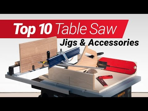 Top 10 Woodworking Table Saw Jigs and Accessories & How To Make Them - According to Me