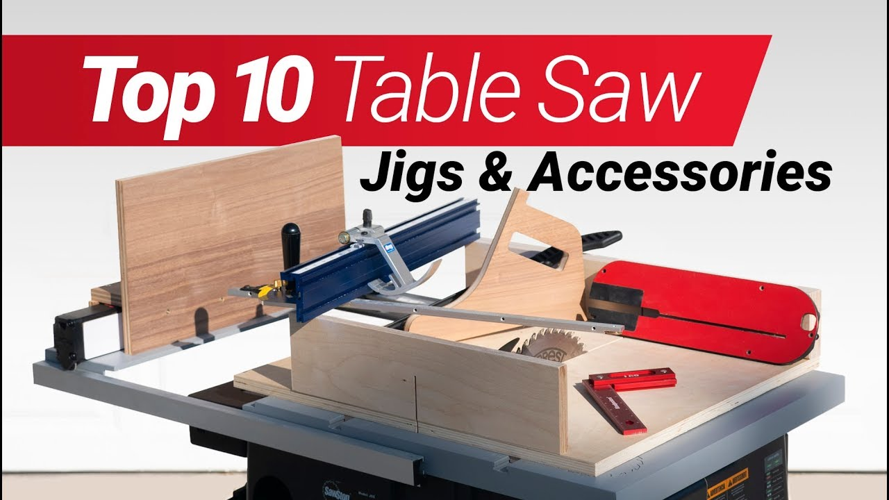 Top 10 Woodworking Table Saw Jigs And Accessories How To Make Them