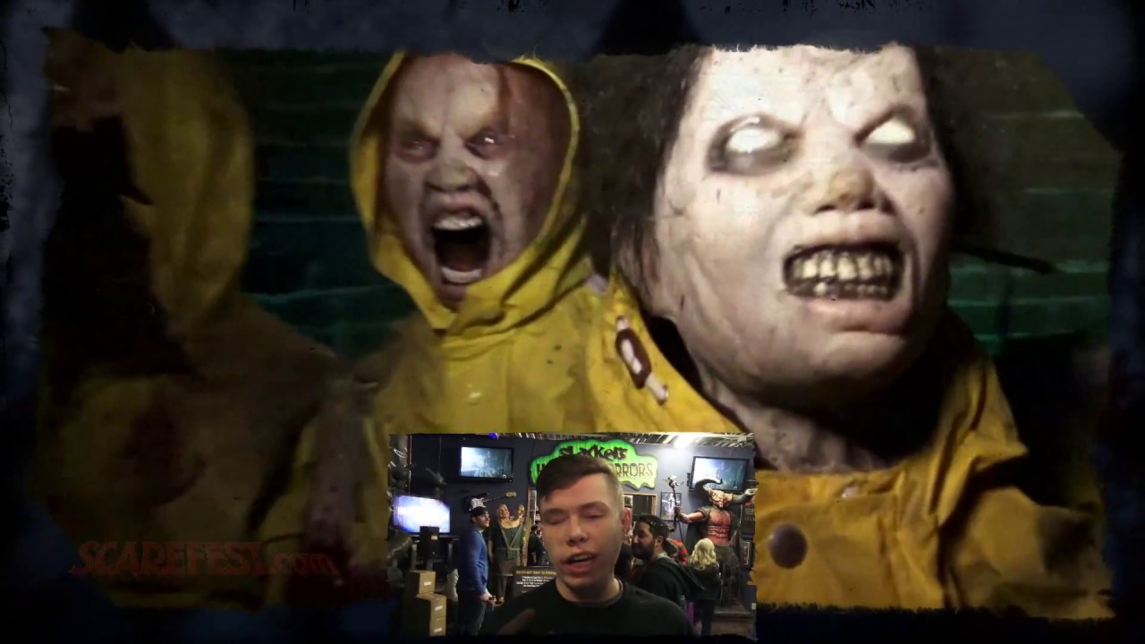 The Darkness Haunted House Preview 2018 Youtube