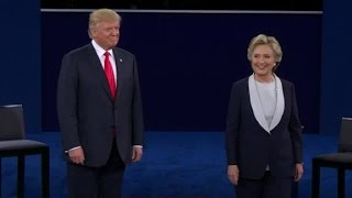 Hillary Clitnon and Donald Trump don