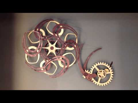 Derek Hugger's Stunning Kinetic Sculptures