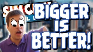 SimCity Buildit! | BIGGER IS BETTER! | Sim City Buildit Let's Play Part 2 - The Sims Building Game!