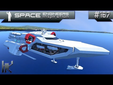 Space Engineers Inspiration - Episode 167: Persecutor, Stardust Yacht, & Auger Star