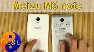Распаковка и первые впечатления от Meizu m3 note