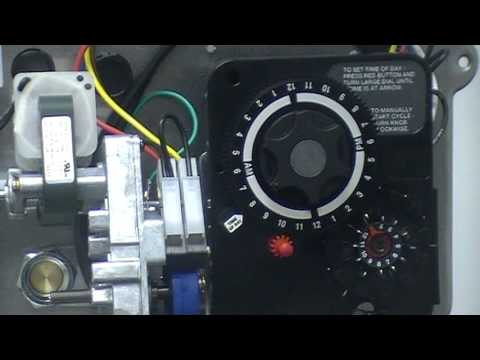 How To Set A Control Timer On A Water Conditioner Softener