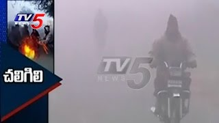 Lowest Temperatures Recorded In vizag Manyam | Reaches To Minus Degrees | TV5 News