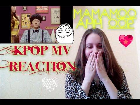Kpop MV REACTION: 마마무MAMAMOO, 에스나eSNa   AHH OOP! 아훕!