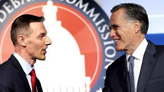 Utah Senate Race: Mitt Romney and Mike Kennedy battle for Republican nomination