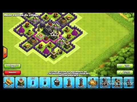 Village hdv 9 sans arc X ni reine