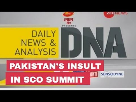 DNA Analysis of Pakistan's insult in SCO Summit