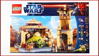 LEGO STAR WARS 9516 Jabba's Palace Construction Toy - UNBOXING