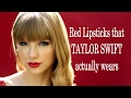 RED LIPSTICK THAT TAYLOR SWIFT ACTUALLY WEARS