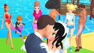 Makeover Run 👸👄 NEW BIG UPDATE! All Levels Gameplay screenshot 3