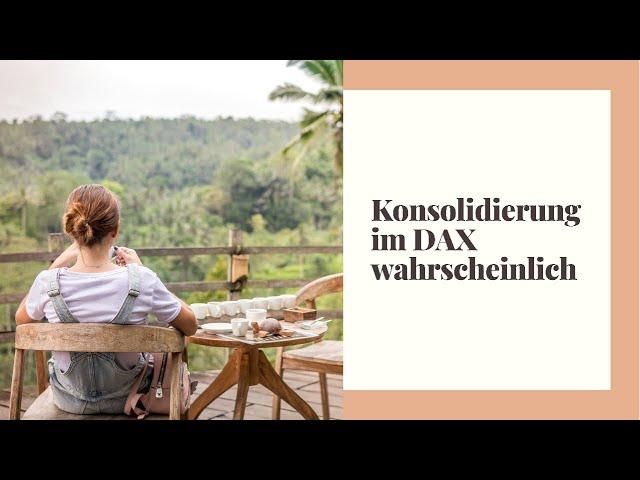 DAX-Morgenanalyse für Montag den 18.10.2021 - ruhiger Wochenstart am Aktienmarkt erwartet