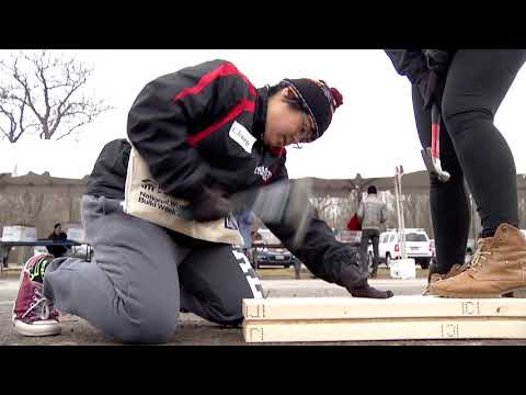 RIT Joins Habitat for Humanity in Framing Frenzy
