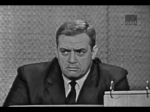 What's My Line?  Raymond Burr; Buddy Hackett panel Jun 3, 1962