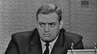What's My Line? - Raymond Burr; Buddy Hackett [panel] (Jun 3, 1962)