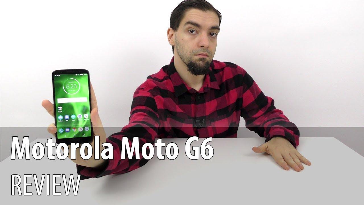 Motorola Moto G6 Review în Limba Română (Telefon midrange cu cameră duală, Android Oreo stock)