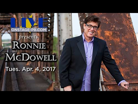 Live on Stage Permian Basin presents Ronnie McDowell