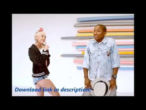 Pharrell Williams feat Miley Cyrus - Come Get It Bae HQ