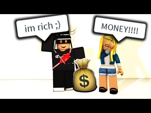 EXPOSING A ROBLOX GOLD DIGGER (I GAVE HER ROBUX)
